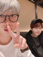 RM and Suga Twitter Dec 22, 2018 (1)
