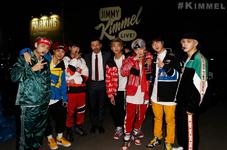 BTS and Jimmy Kimmel Official Twitter Nov 30, 2017