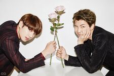 Jungkook and Rap Monster Korea Magazine Dec 2016