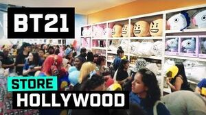 BT21 BT21 in Hollywood !