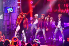 BTS New Year's Rockin' Eve Twitter Jan 1, 2018