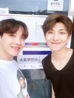 J-Hope and RM Twitter June 9, 2018 (1)