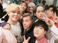 BTS and James Cordon Twitter November 15, 2017 (2)