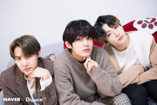 J-Hope, V, and Jungkook X Dispatch Dec 2019 2