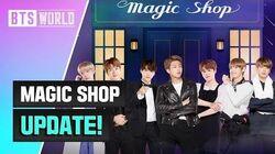 BTS WORLD MAGIC SHOP Update!