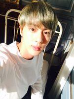 Jin Twitter Aug 29, 2016
