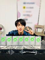 Jin Twitter Dec 1, 2018