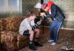 RM and Jin behind the scenes of Spring Day (1)