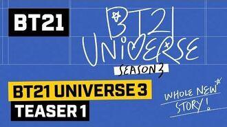 BT21 BT21 UNIVERSE 3 TEASER 1