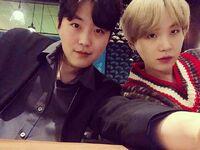 Geumjae and Suga Instagram March 5, 2019