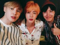Jimin, Jin and J-Hope Twitter August 10, 2018 (2)