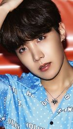J-Hope Lights Boy With Luv Promo Picture
