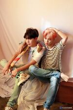 J-Hope and Jimin Map of the Soul Persona Shoot (2)