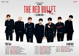 BTS The Red Bullet Tour