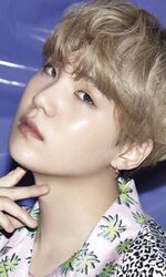 Suga Lights Boy With Luv Promo Picture