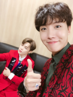 J-Hope, Jimin Twitter Aug 30, 2018