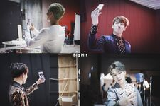 RM, Jungkook, Suga and Jimin Wings Shoot