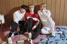 Jimin, V and Jungkook Puma TURIN