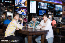 Suga, V and RM BTS x Dispatch June 2019 (2)