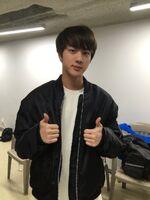 Jin Twitter Nov 13, 2016 (2)