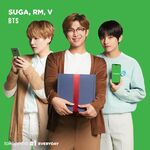 Suga, RM and V Tokopedia (1)
