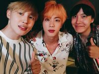 Jimin, Jin and J-Hope Twitter August 10, 2018 (1)