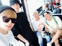 Jimin Jungkook Jin and J-Hope Twitter Sep 28, 2018