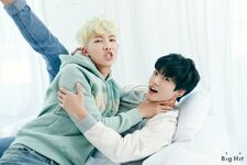 RM and Jungkook 2015 Season Greeting (4)