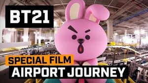 BT21 BT21's Airport Journey - COOKY