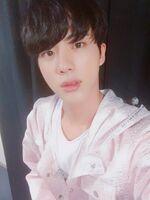 Jin Twitter Oct 14, 2017