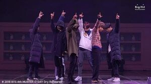 BTS (방탄소년단) Rehearsal Stage CAM 'Best of Me' @4th MUSTER 2018BTSFESTA