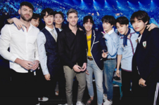 BTS and The Chainsmokers Twitter May 20, 2018
