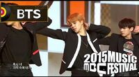 2015 MBC Music festival BTS - Perfect Man(Original by, SHINHWA), 방탄소년단 - Perfect Man 20151231