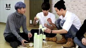 BTS in NAVER STAR CAST 방탄소년단의 복불복 5