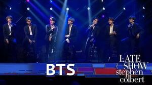 BTS Performs 'Make It Right'