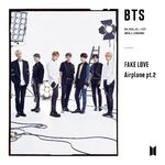 FAKE LOVE Airplane Single Limited Edition B