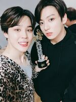 Jimin and Jungkook Twitter June 9, 2018