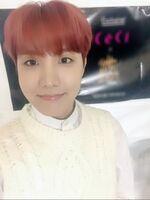 J-Hope 180227 Weibo