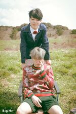 Suga and Jimin Young Forever Shoot
