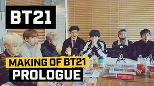 BT21 Making of BT21 - Prologue