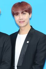 J-Hope Love Myself Campaign Press Conference