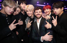BTS and Alex Pall Twitter Nov 19, 2017