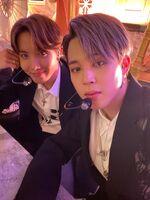 Jimin and J-Hope Twitter Feb 18, 2020 (2)