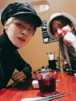 Jimin and J-Hope Twitter Feb 6, 2018