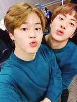 Jimin and Jin Twitter March 31, 2017 (1)