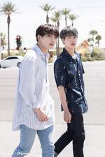 Jungkook and Jin BTS x Dispatch June 2019 (1)
