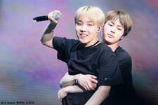 Jin and J-Hope Wings Tour 2017 (2)
