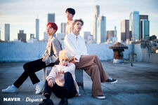 Jin, J-Hope, RM and Jimin D-icon by Dispatch