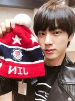 Jin Twitter Mar 10, 2018