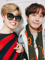 Jimin and J-Hope Twitter Feb 7, 2018 (2)